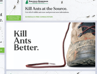 lawn care display ads